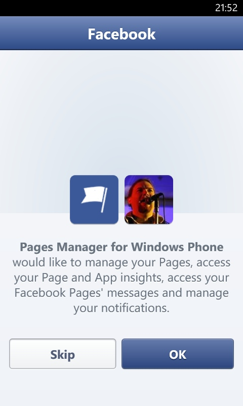 FB Pages Manager