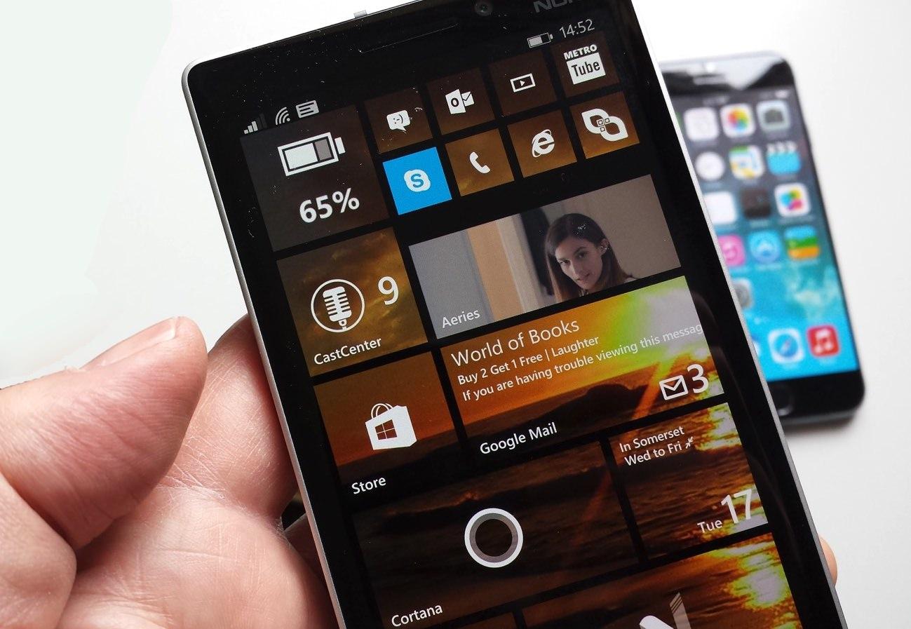 Lumia 930 and iPhone 6