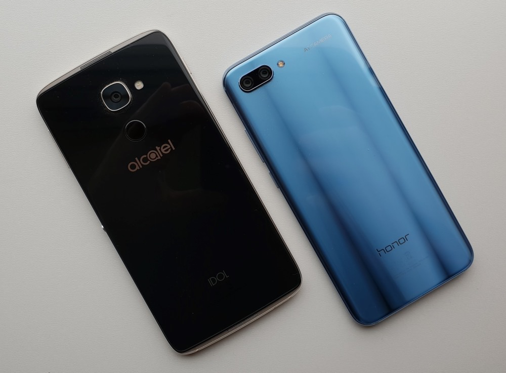 Idol 4 Pro and Honor 10