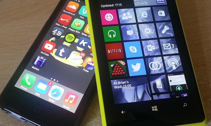 iOS7 meets Windows Phone 8.1!