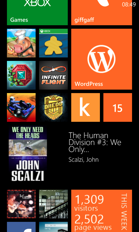 Amazon Kindle on WP8
