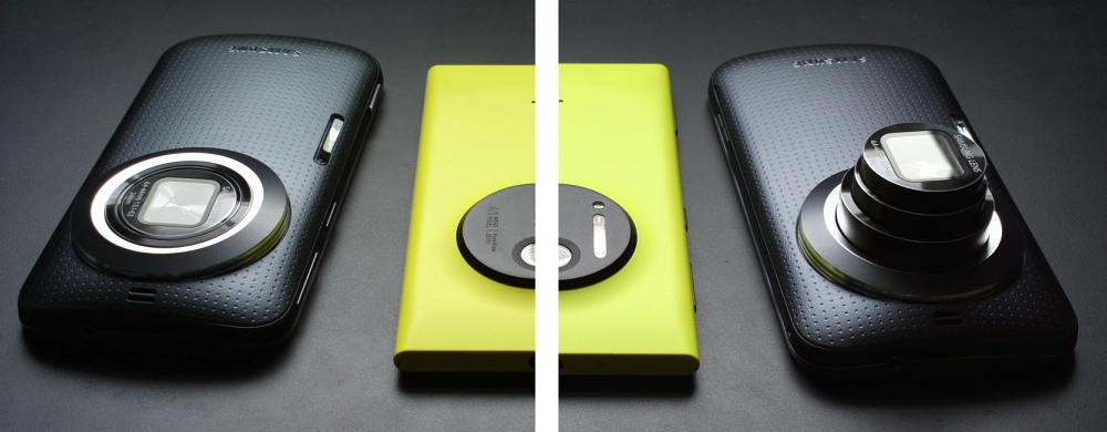 K Zoom and Lumia 1020