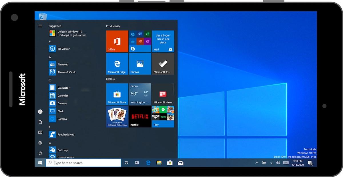 Windows on ARM on a Lumia