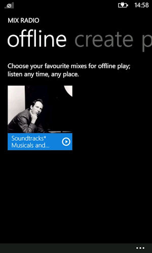 Nokia Music and Mix Radio