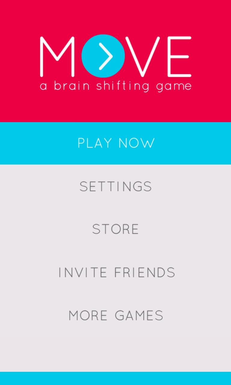 Move: A Brain Shifting Game