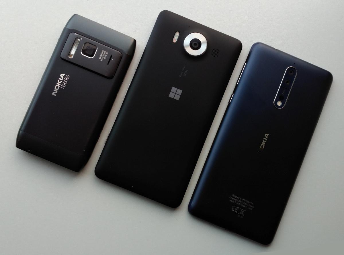 Nokia camera 7 year challenge: Lumia 950 & Nokia 8 take on