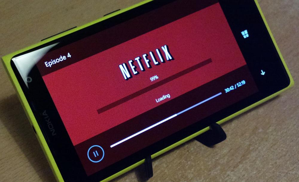 Netflix on the 1020