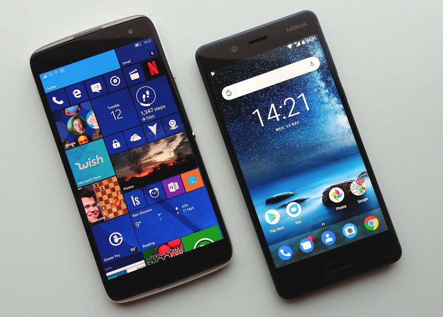 Head to head: Alcatel IDOL 4 Pro vs Nokia 8