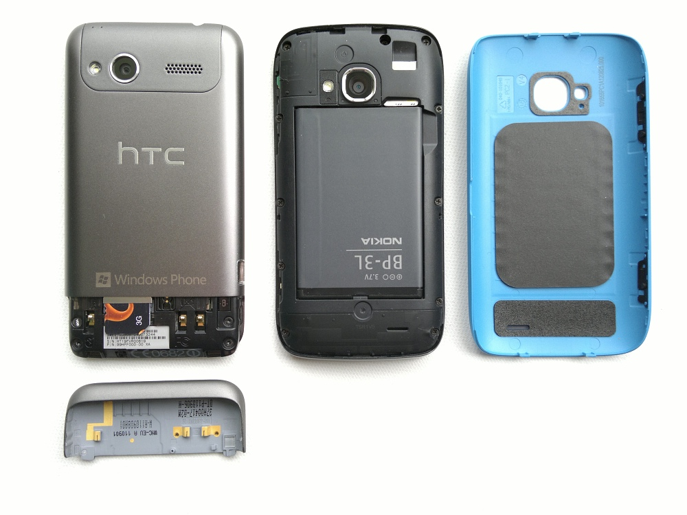 Radar and Lumia 710 (backs)