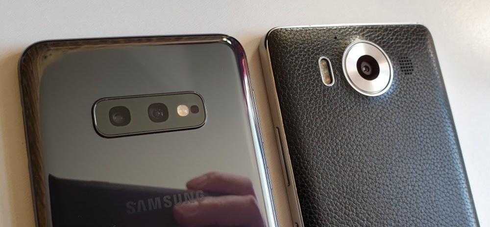 S10e and Lumia 950