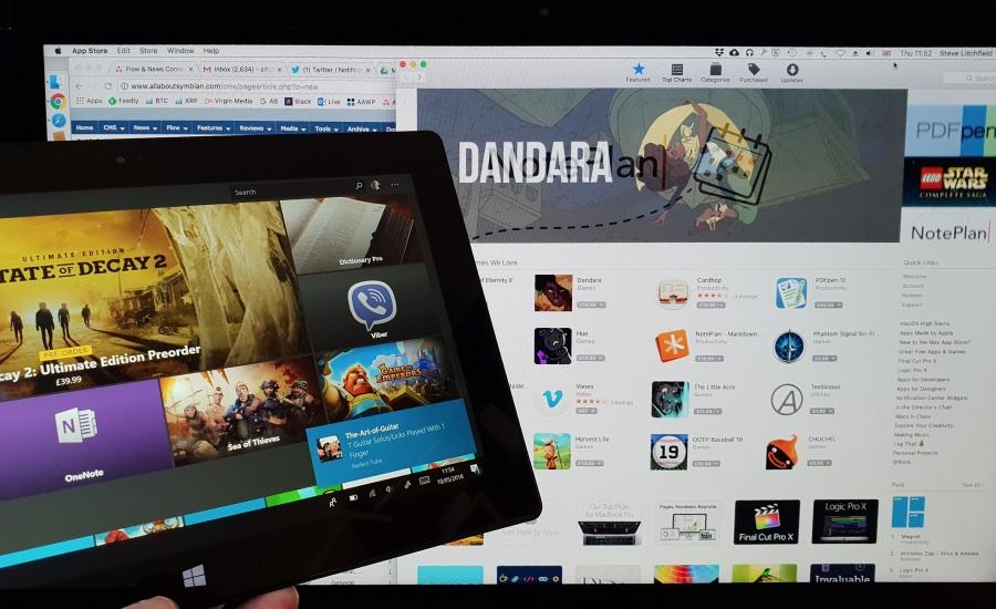 Desktop app stores
