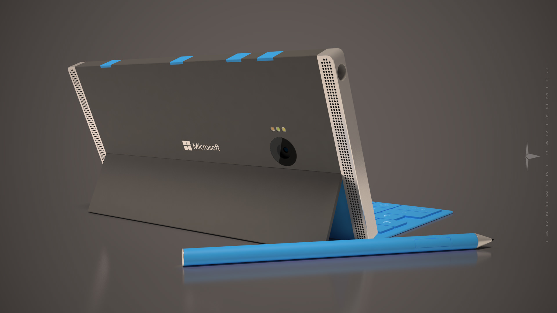 Surface Phone concept, from the back