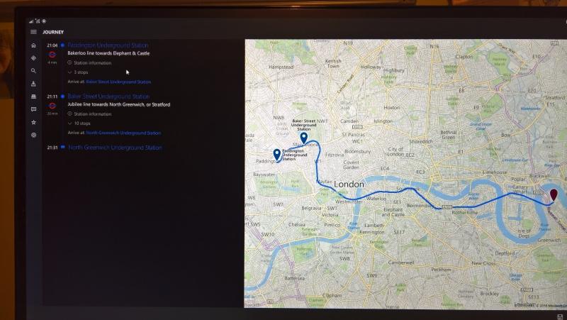 London Travel on Continuum