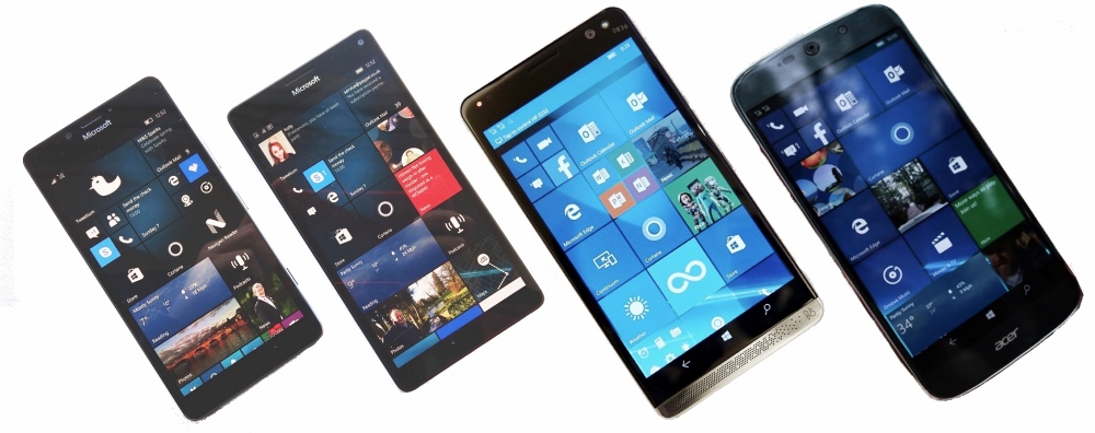 Windows 10 Mobile flagships, 2016, part 1