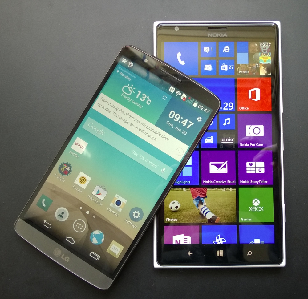 LG G3 and 1520