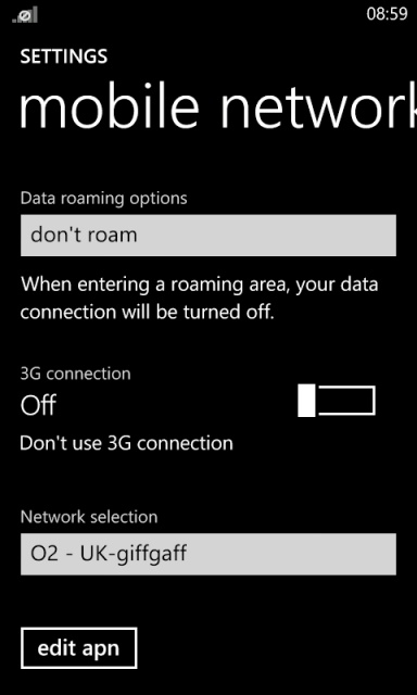 On Windows Phone...