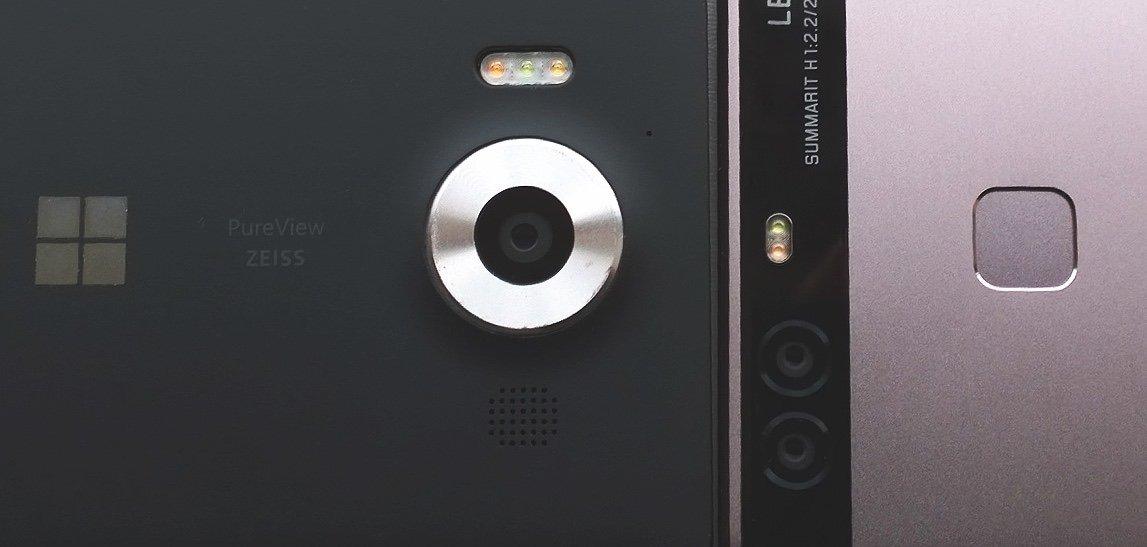 Lumia 950 and Huawei P9