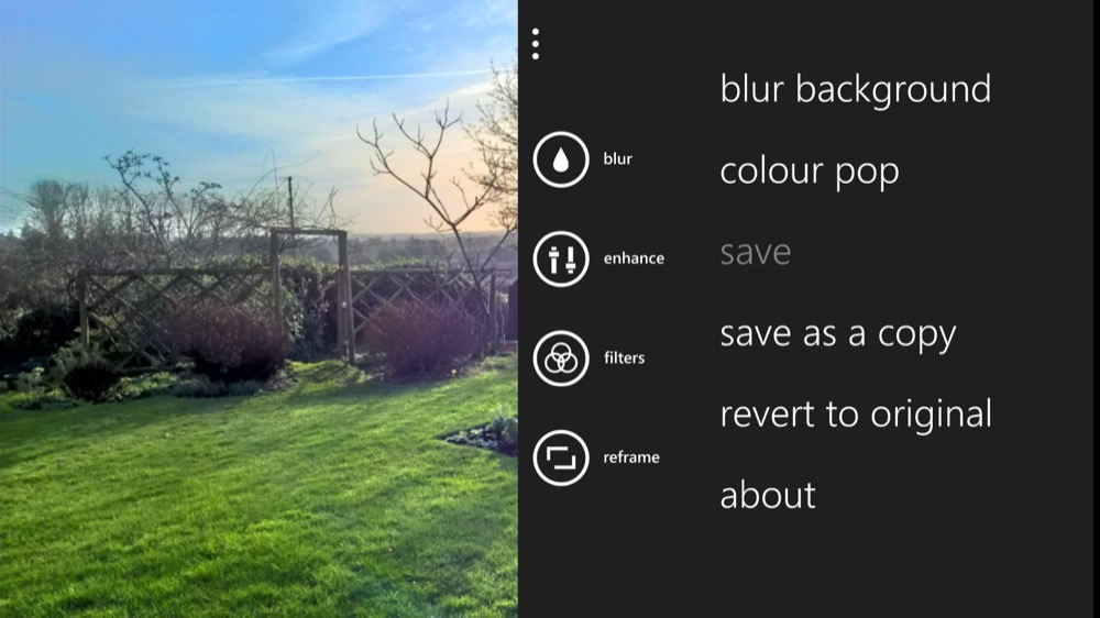 Screenshot, reframing tutorial