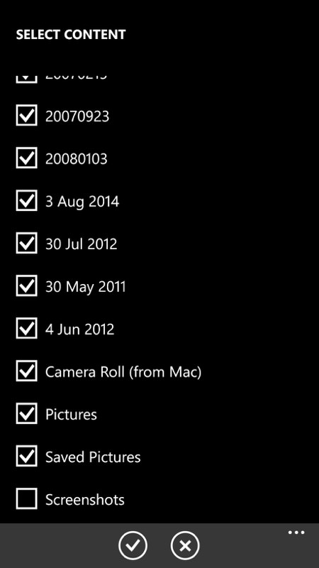 Screenshot, Lumia Storyteller