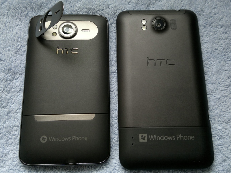 HTC HD7 and HTC Titan