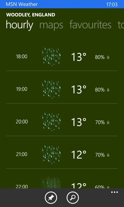 Screenshot, Weather