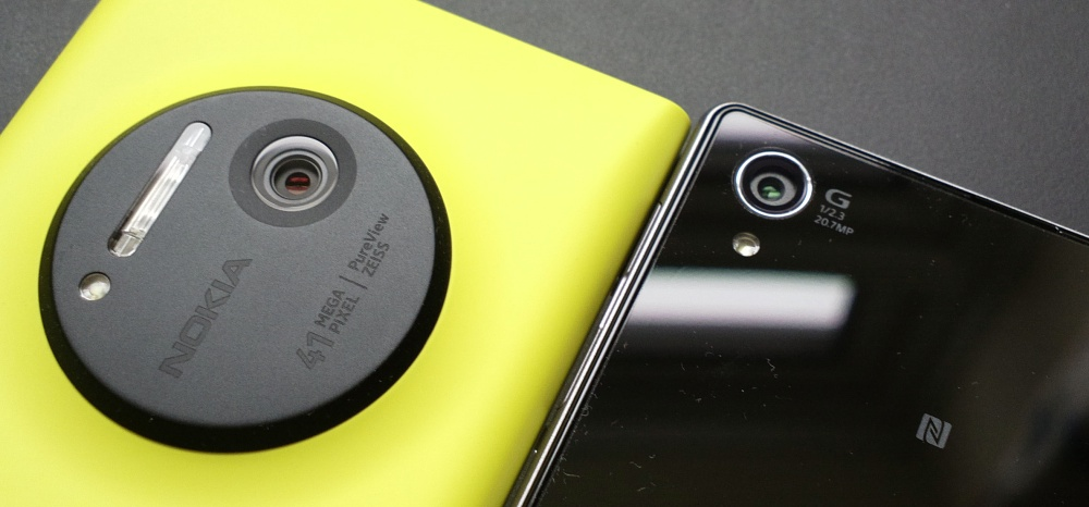 Lumia 1020 vs Xperia Z1