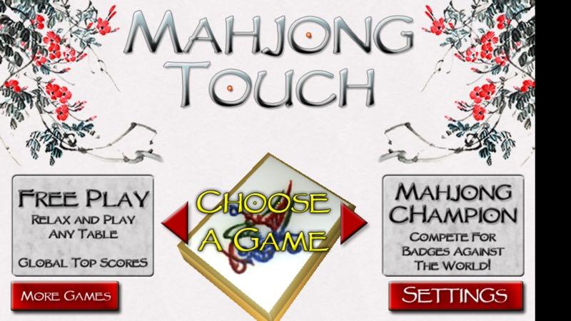 Screenshot, 3D Mahjong Solitaire free