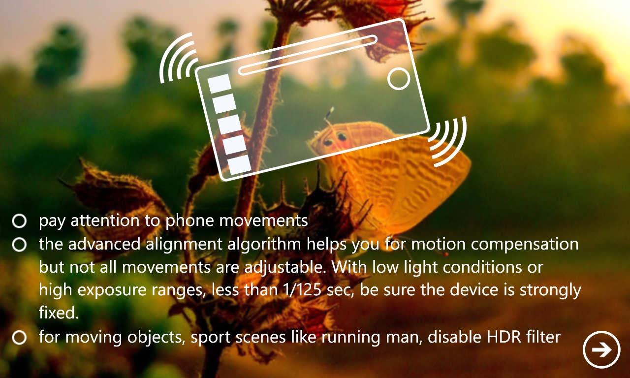 Screenshot, 4Blend HDR