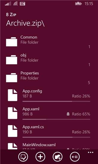8 Zip screenshot