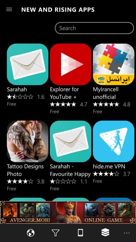 Screenshot, 9Zen Store
