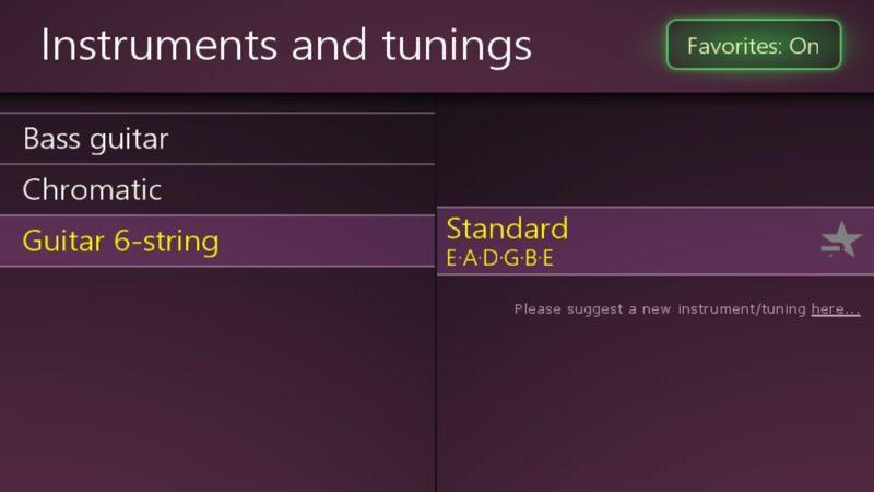 Screenshot, Airyware Tuner