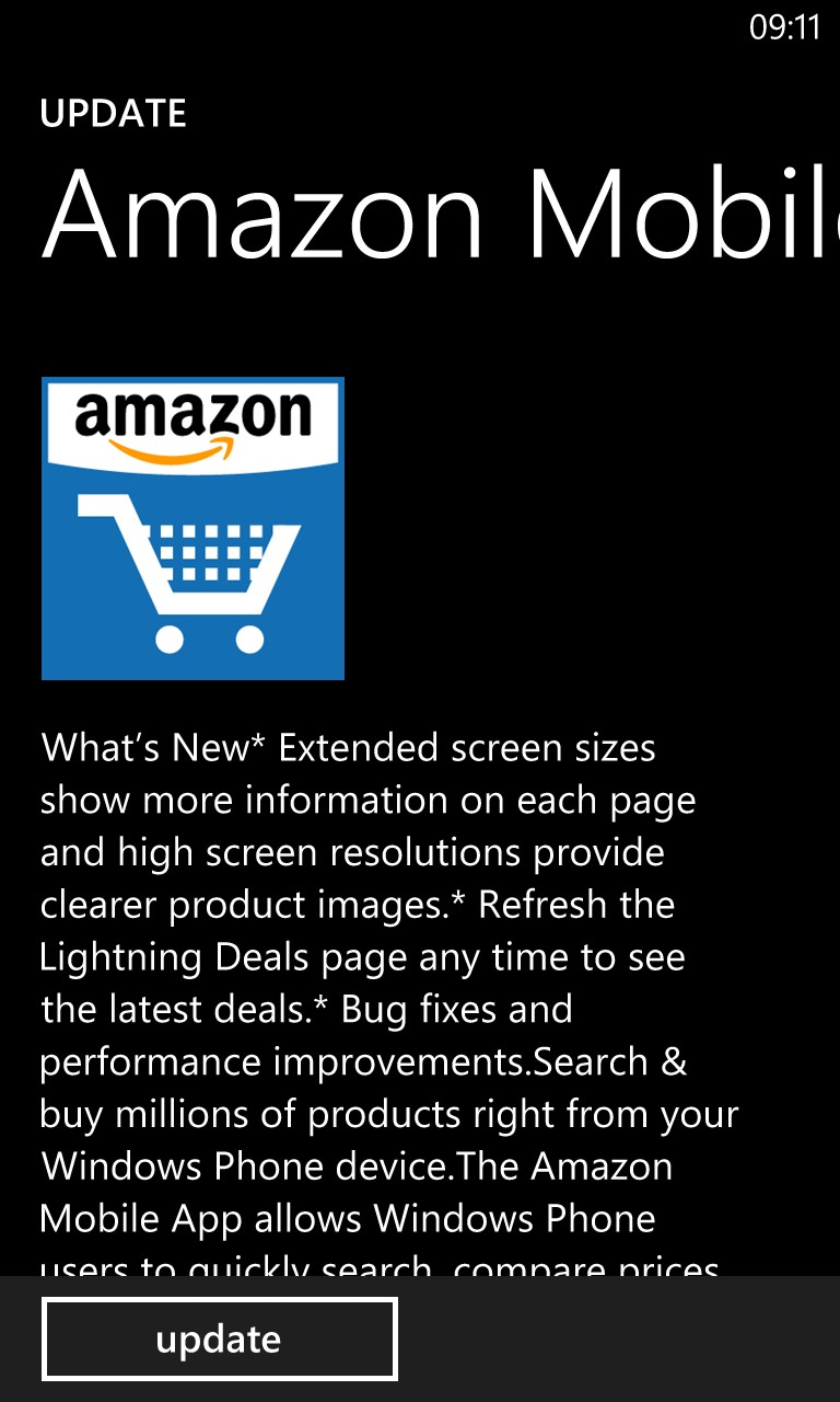 Amazon Mobile gets a face lift