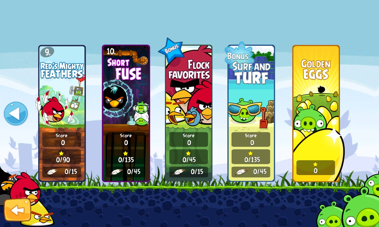 Angry Birds Gets Extra 15 Levels In New Favorites Pack
