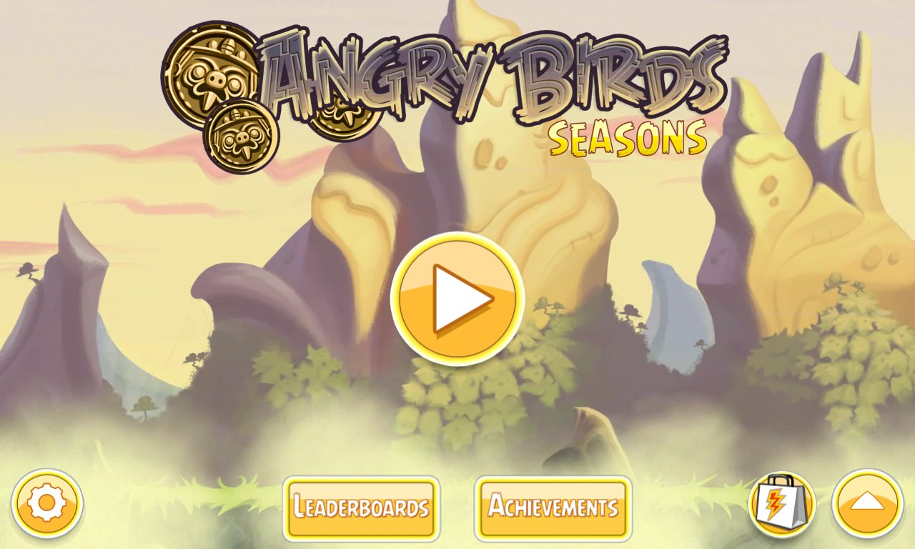 Screenshot, Angry Birds Seasons South Hamerica!