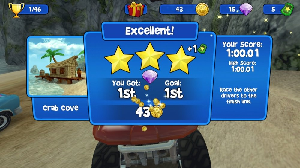 Screenshot, Beach Buggy Racing
