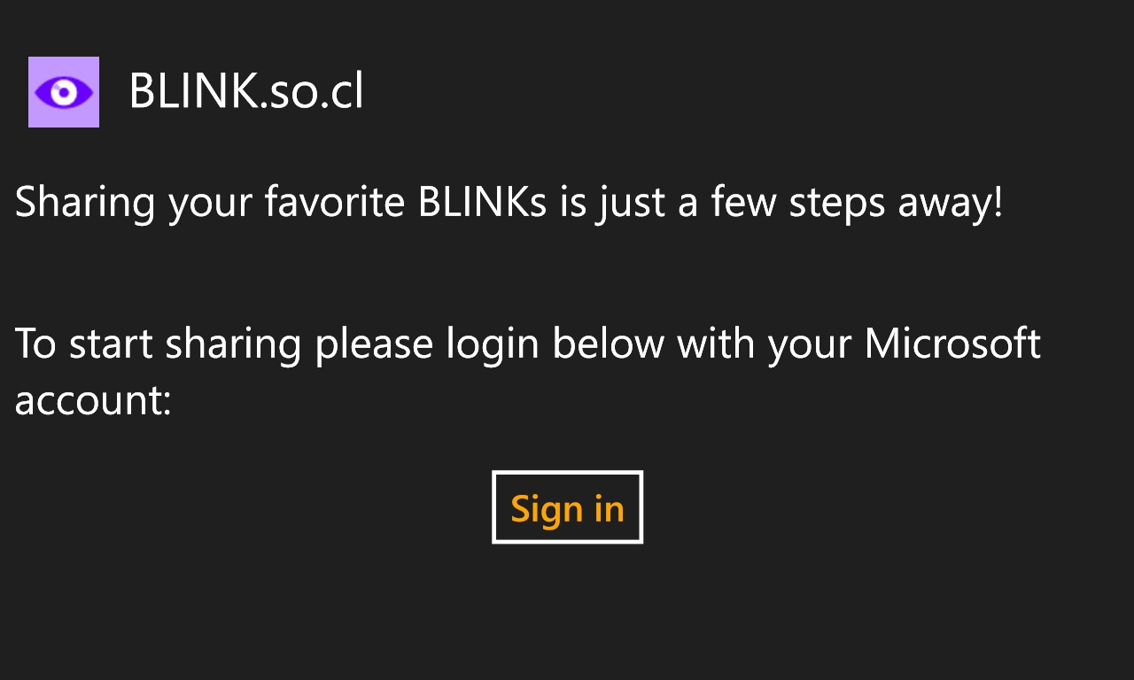 Screenshot, BLINK 2.0