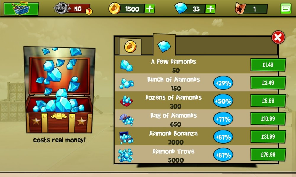 Screenshot, Blitz Brigade