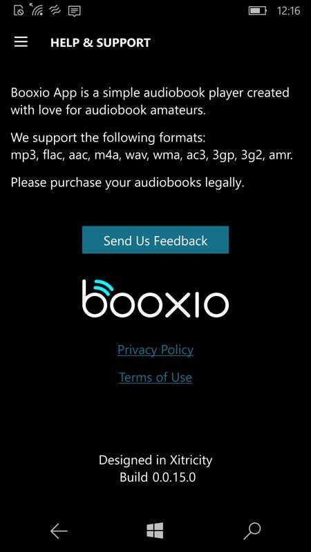 Mini-review: Booxio UWP, audio book 'reader'