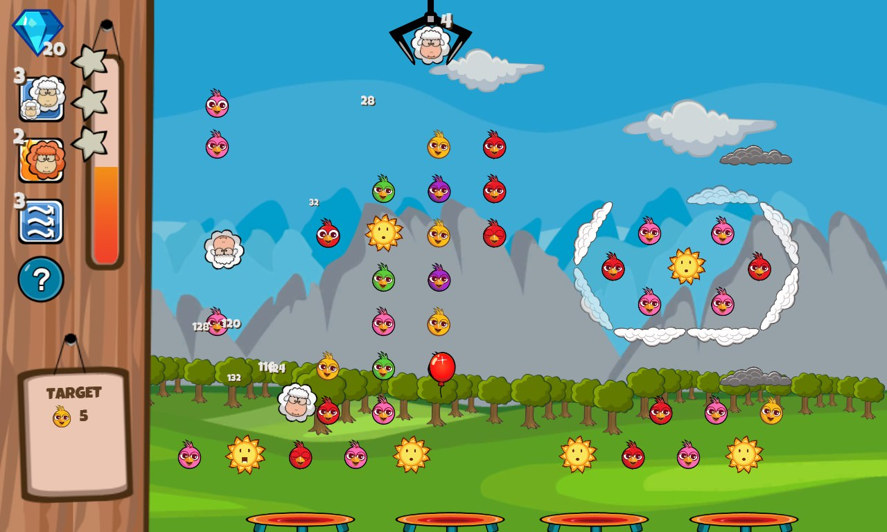 Screenshot, Bouncing Sheep