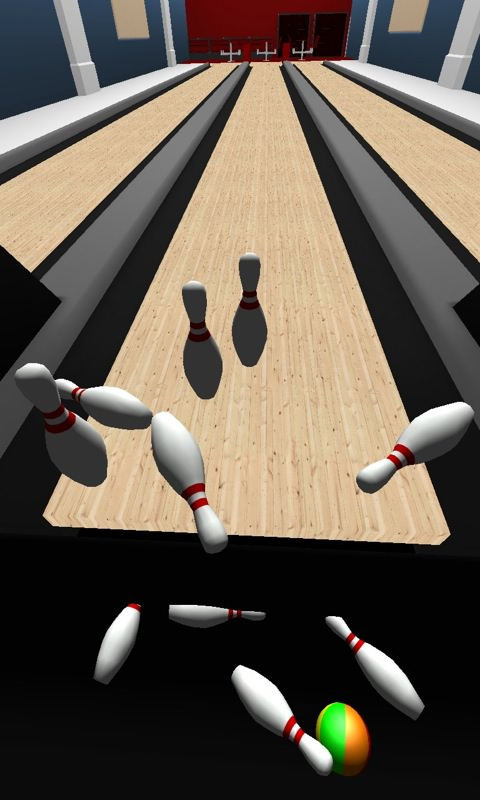 Screenshot, Bowling 3D