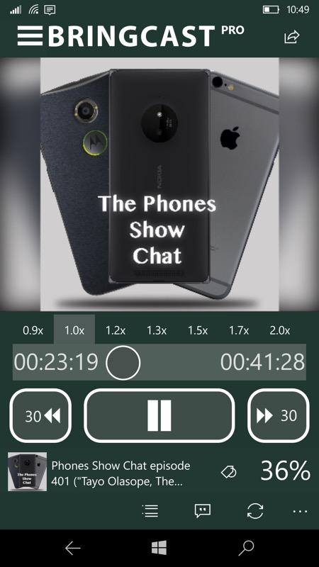 Screenshot, Bringcast