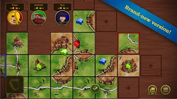 Screenshot, Carcassonne