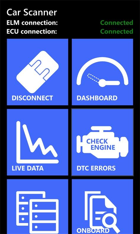 Screenshot, Car Scanner Pro