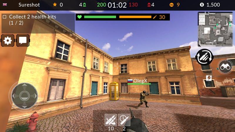Screenshot, Code of War UWP