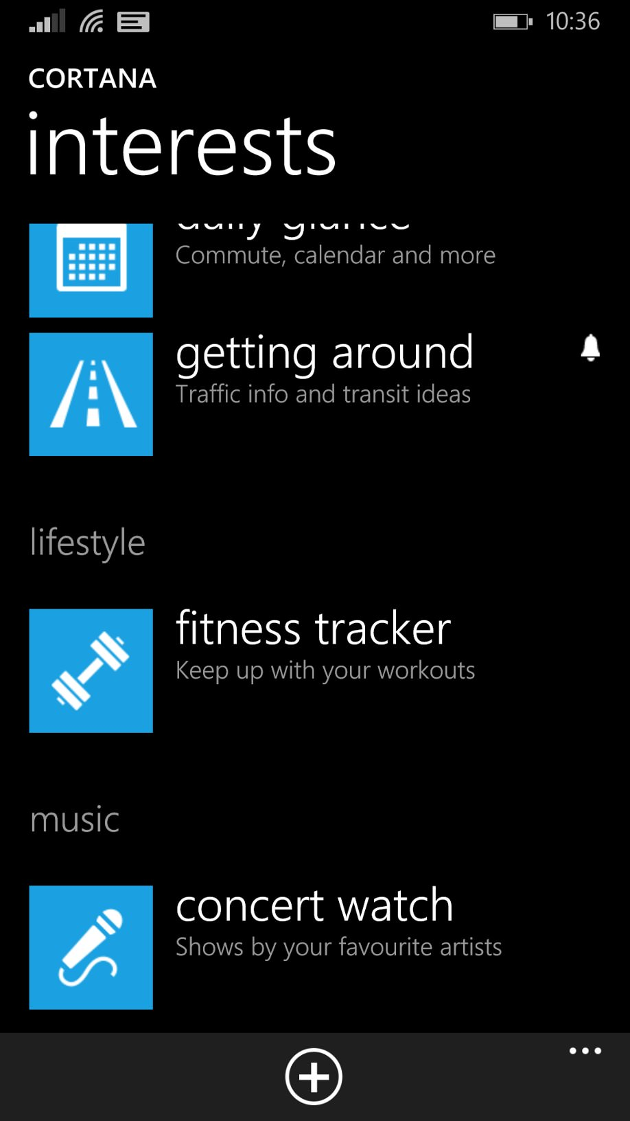 Screenshot, Cortana