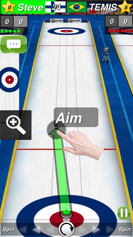 Screenshot, Curling 3D