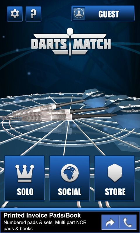 Screenshot, DartsMatch