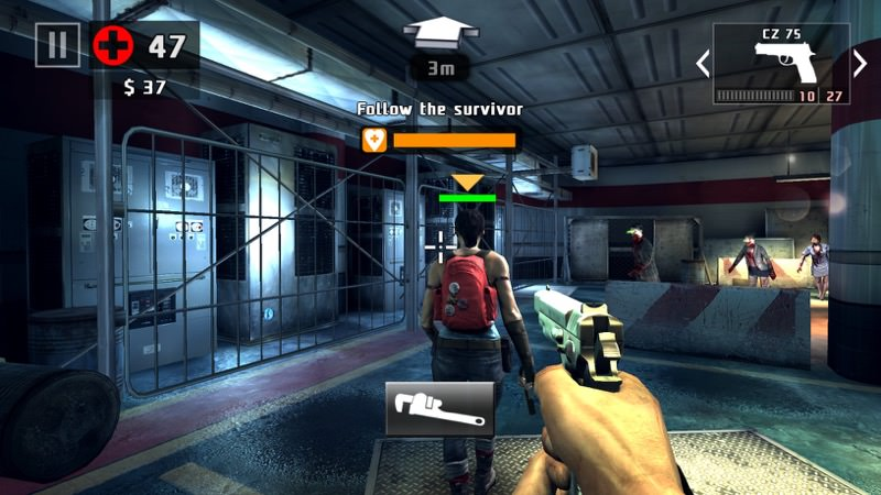 Screenshot, Dead Trigger 2 for Windows Phone