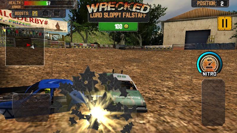 Screenshot, Demolition Derby: Crash Racing