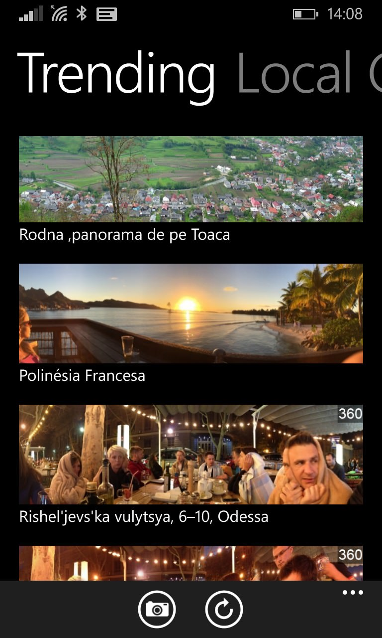 Dmd Panorama Arrives On Windows Phone But Problematic